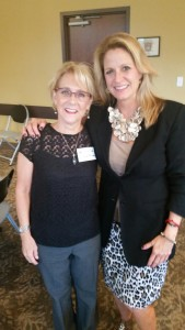 Julie and Mary Gardner at Winter Park Chamber presentation